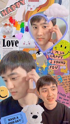 Kyungsoo, Chanyeol, Exo Ot12, Kaisoo, Exo Dear Happiness, Exo Songs, Exo Lockscreen, Stray Kids Seungmin, Seventeen Wonwoo