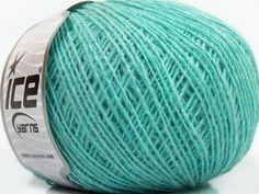 Fiber Content 70% Acrylic 30% Wool Mint Green Brand ICE fnt2-40343