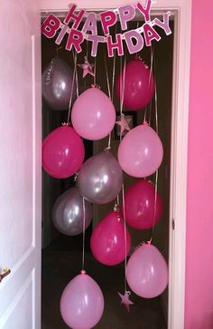 Surprise birthday party ideas for husband elegant 25 unique birthday mornin. - Surprise birthday party ideas for husband elegant 25 unique birthday morning surprise ideas on - Birthday Door, Birthday Fun, Birthday Parties, Birthday Quotes, Birthday Presents, Simple 1st Birthday Party Boy, Birthday Wishes, Unique 50th Birthday Gifts, Birthday Pranks