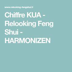 Chiffre KUA - Relooking Feng Shui - HARMONIZEN