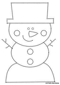 Snow Activities, Art Activities For Kids, Preschool Activities, Free Printable Handwriting Worksheets, Christmas Worksheets, Homeschool Kindergarten, Winter Time, Winter Season, Pre Writing