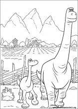 Desenhos do O Bom Dinossauro para colorir