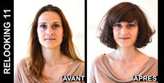Christine #Margossian made 25 women want to enjoy the summer thanks to a #makeover. Discover with #pictures this hard task accomplished by L'Oréal Professional. #relooking http://www.livecoiffure.com/en/wp_gallery/relooking-11