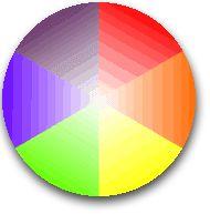 Colores análogos, en el círculo cromático. Nuevo post en El Ropero de Maria S.