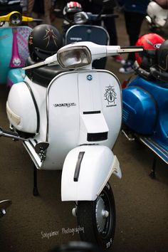 Vespa PX at 71 years of vespa event in Jakarta