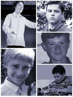 Sherlock cast when they were kids