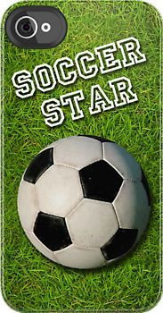 Soccer Star iPhone case. If only I had an iPhone......if only if only if only