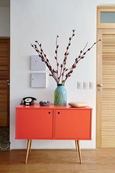 Retro Home Decor Contemporary Interior Design, Modern Interior, Furniture Decor, Furniture Design, Retro Home Decor, Home Design, Home Decor Inspiration, Decor Ideas, Entryway Decor
