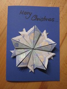 Geldgeschenke Christmas star on greeting card Toddlers Who Stutter Some parents have the shock of he Easy Fall Wreaths, Diy Fall Wreath, Birthday Gifts For Brother, Diy Birthday, Christmas Star, Christmas Cards, Envelopes, Dollar Origami, Inexpensive Gift