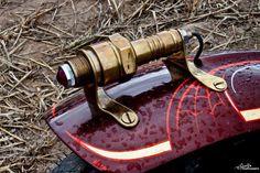 spark plug tail light