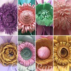 130 Best Paper Flower Center Ideas Flower Center Paper Flowers Flower Template
