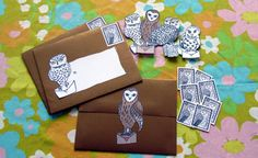 Owl post printables (great for invitations)