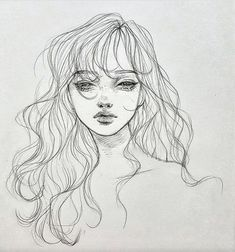 Aesthetic Drawing Sketches We Heart It Pencil Art Drawings, Art Drawings Sketches, Pencil Sketching, Sketch Art, Sketch Design, Pretty Art, Cute Art, Arte Sketchbook, Art Reference Poses