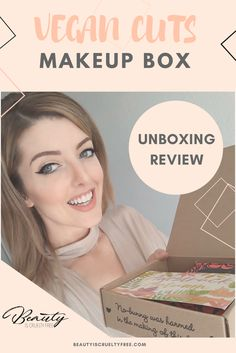Vegan Cuts Makeup Box - Cruelty-Free Beauty And Makeup Brands - Unboxing promocode cruelty-free beauty vegan beauty box - vegan subscription box - unboxing subscription box review | beautyiscrueltyfree.com