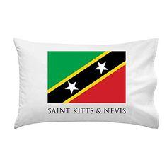 Saint Kitts & Nevis - World Country National Flags - Pillow Case Single Pillowcase
