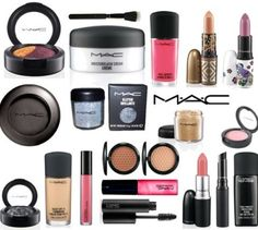 Mac makeup  MY MOST FAVORITE MAKE UP ....I LOVE MAC