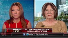 Mother of Benghazi Victim: 'Special Place in Hell for People Like Hillary'