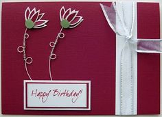 HOMEMADE BIRTHDAY CARDS - Google Search