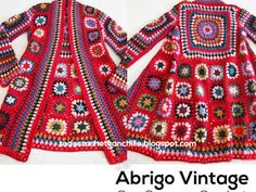 We have put together a collection of Crochet Circular Jacket Pattern Free Ideas that you are going to love. This is one of our most popular posts, check them out now. Gilet Crochet, Crochet Coat, Crochet Cardigan Pattern, Granny Square Crochet Pattern, Crochet Jacket, Crochet Squares, Crochet Granny, Crochet Clothes, Crochet Stitches
