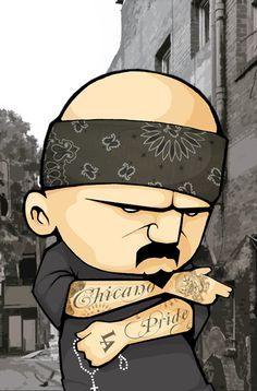 Chicano Pride | Chicano Pride by ~fokr on deviantART