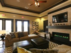 Watch your favorite shows in Citra at Windermere's plush clubhouse. http://apt.gd/1jdbf2f #orlando #florida #apartment