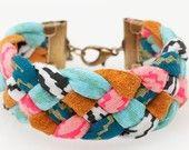 braided fabric cuff