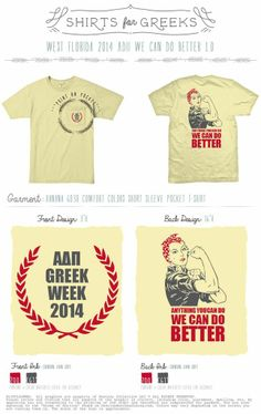 Alpha Delta Pi | Greek Week | Anything You Can Do | We Can Do Better | Sorority | Tshirt Ideas | Cute Designs | shirtsforgreeks.com