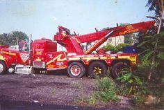 "The Infamous "" Black Cat "" ; After building Rotators For I.D.O.T ( Illinois ) ; Mack & B&B Industries 60 Ton Tator"