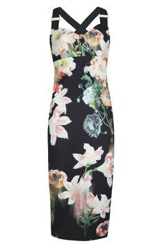 Ted baker 'Opulent Bloom' Sheath Dress