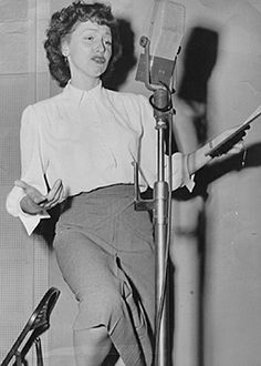 ANITA O'DAY ~ Born: Oct.18 1919, in Chicago. Died: Nov. 23 2006 (aged 87) from pneumonia. Anita made the jump from big band singer during the Swing era to mainstream jazz in the '50s/60s. Impoverished & abandoned in childhood, O'Day led one of the roughest lives in jazz, possibly surpassed only by her idol, Billie Holiday. In '56, she was signed by Verve records, and the nearly 20 albums she put out during the next decade were among her most tantalizing. She received her first Grammy nom in…
