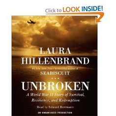"""""""Unbroken"""" this is one of the best books I have ever read. """"Unbroken"""" tells the life story of a man that survived under circumstances that would of broken the average man and went on to find redemption in a place he was not looking. Every American should read this book."""
