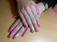 Nails girly cute nails girl nail polish nail pretty girls pretty nails nail art