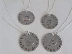 I would love a doula necklace! Ive wanted one that says- Helping Hands Doula