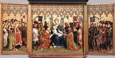 LOCHNER, Stefan - Altarpiece of the Patron Saints of Cologne