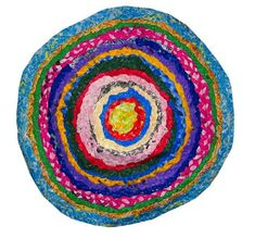 The Braided Plastic Bag Rug Is Made By Swedish Upcycling Designer Maria Westerberg