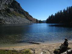 Lake Valhalla cascades. My first hike. In beautiful Washington.