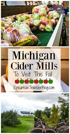 In Michigan, fall is apple cider season. This post shares three of Michigan's…