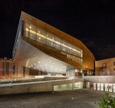 Cultural Center in Castelo Branco by Mateo Arquitectura I Like Architecture