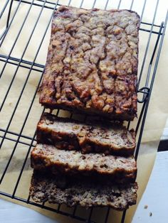 Omega-3 Loaded Gluten Free Banana Nut Bread with Coconut Flour - Gluten Free Bread