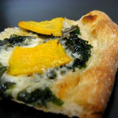 White Bean, Kale, and Butternut Squash Pizza recipe on Food52