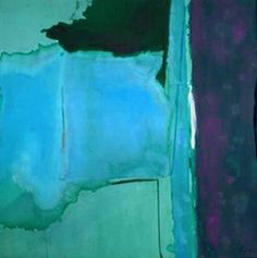 Helen Frankenthaler, 1928 - 2011, major contributor to the american Abstract Expressionism movement of the mid-twentieth century.