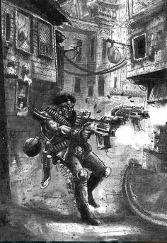 Underhive art from rulebook