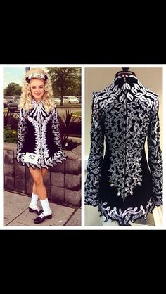 **Celtic Star**Irish Dance Solo Dress Costume**