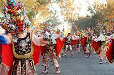 Fiesta de La Tirana / Iquique (Chile) by Leon Calquin, via Flickr