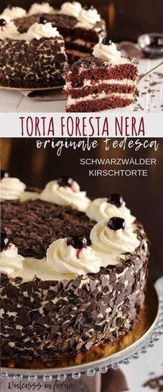 49 Ideas for cheese cake ricetta tedesca Chocolate Trifle Desserts, Köstliche Desserts, Healthy Dessert Recipes, Cupcake Recipes, Chocolate Recipes, Baking Recipes, Cake Chocolate, Winter Desserts, Cupcakes