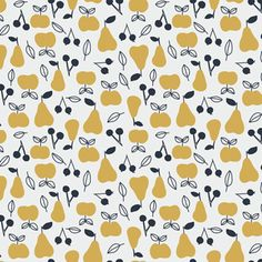 Little Cube - Sweet Autumn Day - Apple and Pear in Gold
