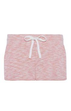 Primark - Roze gemêleerd jersey short