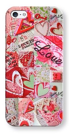 iPhone  and Android phones cover - Love Themed