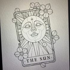 ✽ The Sun Tarot ✽ - I still have August available at my guest spot with Last Chance Saloon! ✽ The Sun Tarot ✽ - I still have August available at my guest spot with Last Chance Saloon! Tattoo Sketches, Tattoo Drawings, Drawing Sketches, Tattoo Ink, Tiny Tattoo, Small Tattoos, Neo Traditional Art, Traditional Tattoos, American Traditional
