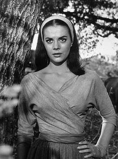 """""""The Burning Hills,"""" Natalie Wood. 1956/Warner Bros."""